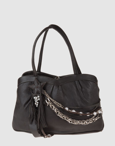 HOLLY Women - Handbags - Medium leather bag HOLLY on YOOX :  star bag holly purse
