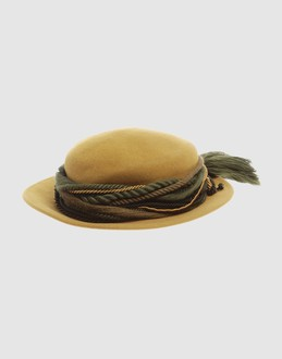 MUHLBAUER Women - Accessories - Hat MUHLBAUER on YOOX :  vintage inspired ribbons felt green
