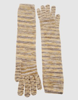 MISSONI Women - Accessories - Gloves MISSONI on YOOX :  cashmere silk gloves missoni