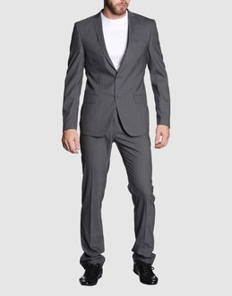 BLU SCURO Men - Men's suits - Suit BLU SCURO on YOOX from yoox.com