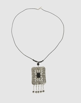 Cignonero Women Necklace- YOOX :  necklace pendant accessories art deco